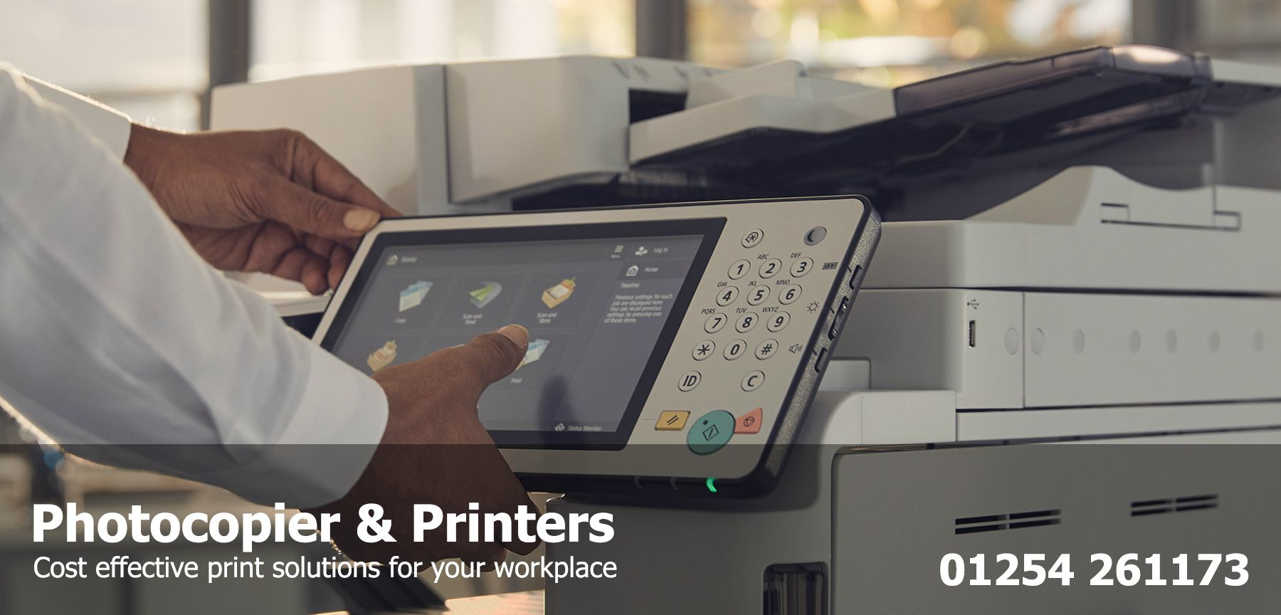 office photocopier supplier North West - photocopier lease rental printer cost per copy service contract